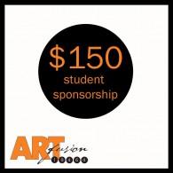 $150 student sponsorship