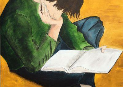 Aslan Berbaum, Scholarship Applicant