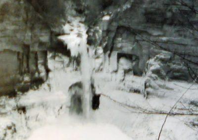 Frozen Falls by Mary Kosar