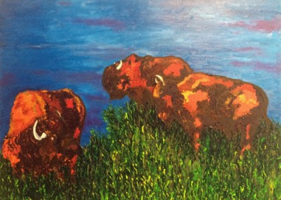 The Return of the Buffalo by Erika Hornburg-Cooper