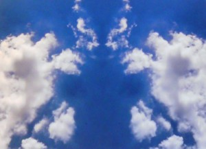 Rorschach's Cloud Test #2 by Peter Rampson