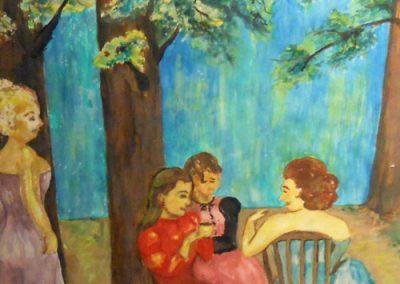Garden Gossip by Ellen Baker