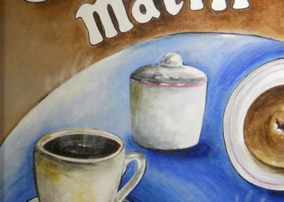 Cafe du Matin by Joni Peters
