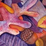Autumn Leaves by Virginia Gaudiello