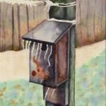 Bird House by Virginia Gaudiello