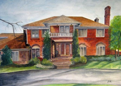 Finished House by Joni Peters