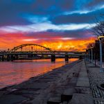 Allegheny River Sunrise By Brad Weghorst