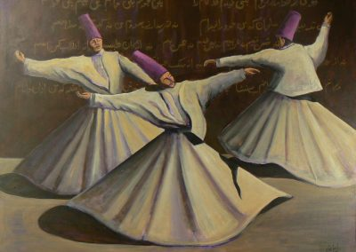 Whirling Verses Reza Replica