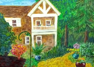 Back Yard by Arline Christ