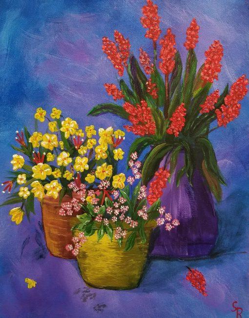 rhame summer flowers